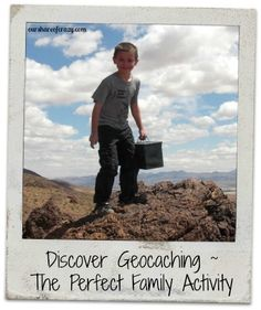 Discover Geocaching - its the perfect activity to have fun, adventurous family time outside. Kids always love a treasure hunt!