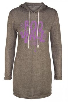 PURPLE GLITTER BOO Y'ALL DESIGN WITH CUTE LITTLE GHOSTS AND SPIDER WEB FRENCH TERRY LONG SLEEVE HOODIE  #Leggings #VIVCollection #OOTD #Fashion