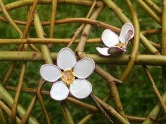 Apple blossom Everlasting Ephemerals hair by RosaMysticaArts