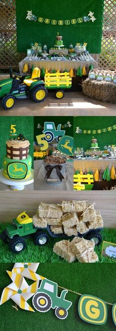 John Deere Birthday Party Ideas Boys Will Love 4th Parties 2nd