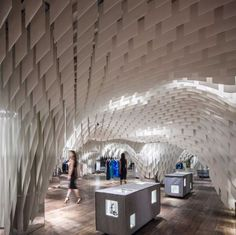 Architecture firm 3GATTI have designed a fashion store in Chongqing, China.