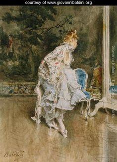 The Beauty Before The Mirror - Giovanni Boldini - www.giovanniboldini.org