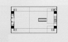 Forma Store, Paulo Mendes da Rocha, São Paulo, 1987 - 1st Floor Plan