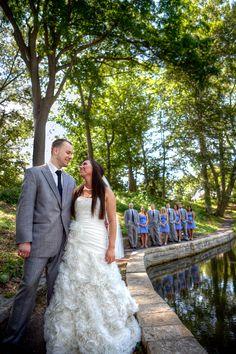 Bridal Party Photo #weddingphotography #bridalparty www.linkedringweddings.com