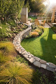 Wall Middlebury - traditional - landscape - san francisco - Sally Stoik Landscape Architect