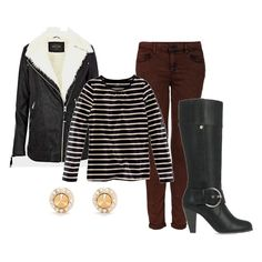 It's easy to dress up and stay cozy at the same time! Add a pair of tall boots to any ensemble for a quick update to your look. Clothing Sites, Love Clothing, Look Fashion, Fashion Outfits, Womens Fashion, Fall Outfits, Cute Outfits, Work Outfits, Vogue