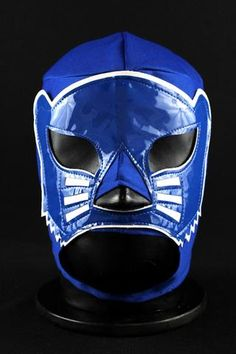 BLUE PANTHER Premium Adult Mexican Wrestling Lucha LIbre Mask Halloween