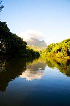Marapendi river, Barra da Tijuca, Rio de Janeiro, Brazil