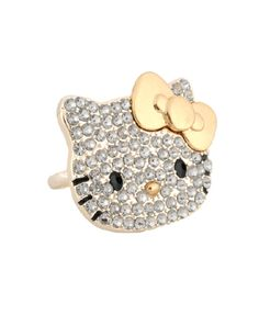 Hello Kitty two finger ring