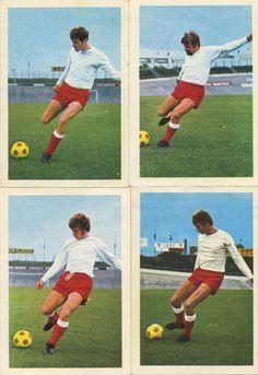 Ton, Jan, Gerrit and Cor. F.C. Utrecht 1970
