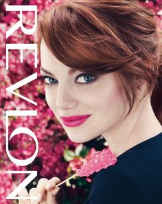 "Emma Stone Revlon Just Bitten Kissable Balm Stain in ""Lovesick"""