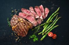 Przepis: Wafle z mlekiem w proszku - Proste i Smaczne Przepisy Steak Cooking Temp, Steak And Asparagus Recipe, Tao, Cooking The Perfect Steak, Juicy Steak, Homemade Butter, How To Cook Steak, Caramelized Onions, Carne