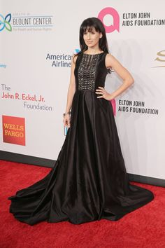 Hilaria Baldwin attends Elton John AIDS Foundation's 14th Annual An Enduring Vision Benefit at Cipriani Wall Street on November 2, 2015 in New York City.