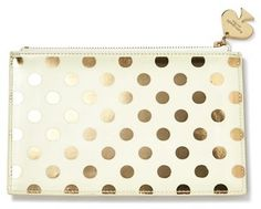 Kate Spade New York Foil Dot Pencil Pouch Set