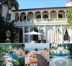Versace once owned this mansion.. Now you can throw a party at the pool that has thousands of mosaics and 24 karat gold! Miami here we come!