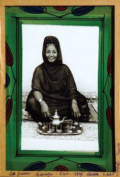 Malick Sidibe; La femme Mauresque - thé, 1974.