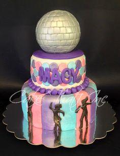 Disco Dance Party Cake