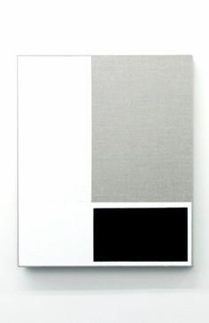 Alan Johnston Untitled, 2013 Acrylic titanium white and beeswax on linen Post Painterly Abstraction, Abstract Art, Art Blanc, Modern Art, Contemporary Art, Estilo Interior, Arte Popular, Minimalist Art, Op Art