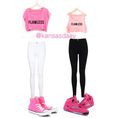 Think pink bestfriend matching outfits