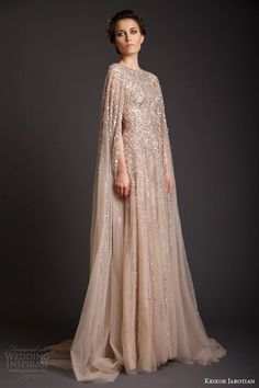 krikor jabotian couture spring 2014 sequin embellished gown