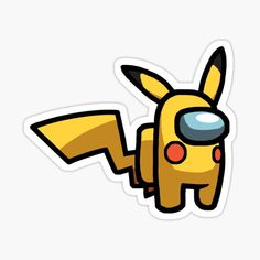 Pika-Impostor • Millions of unique designs by independent artists. Find your thing. Cute Animal Drawings Kawaii, Cute Easy Drawings, Cute Laptop Stickers, Cool Stickers, Cartoon Wallpaper Iphone, Aesthetic Iphone Wallpaper, Cool Backgrounds Wallpapers, Cute Patterns Wallpaper, Amon
