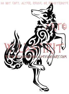 Dancing Coyote Tattoo by *WildSpiritWolf on deviantART