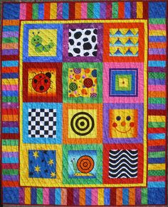 Modern Baby Quilt Designs | Pat's Knitting and Quilting:Tadpole's Quilt