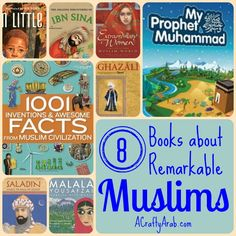 A Crafty Arab: 8 Books about Remarkable Muslims