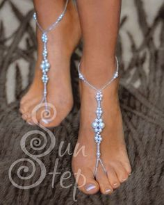 Free pattern for foot(ankel) bracelet Sun Step | Beads Magic | Bloglovin'
