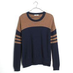 Colorblock Texturework Sweater