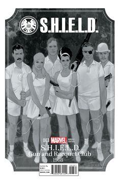 S.H.I.E.L.D. #3--Variant cover by Phil Noto.