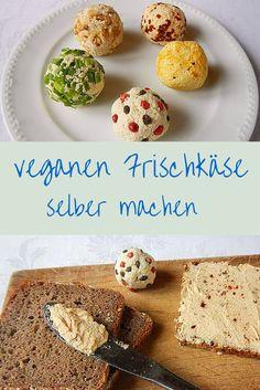 Frischkäse muss nicht immer aus Tiermilch hergestellt werden. Hier findest du leckere und gesunde Rezepte und Varianten für veganen Frischkäse