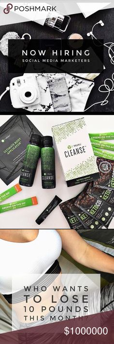 💰Business Opportunity 👠 I have set out on a new business venture that I am very excited to share and discuss with you all. I have joined a company called It Works! which helps people to live and create healthy lifestyles for themselves and the ones around them. We carry a variety of products dealing with weight loss, skin care, energy, and plenty more! If you want to join my team and I for an extra income or even try our products (there's benefits!), please comment below for more…
