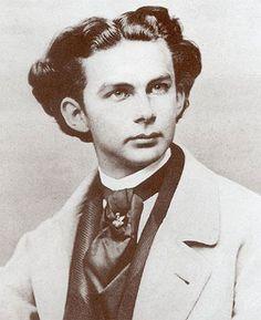 Ludwig II., Fotografie von Joseph Albert 1865