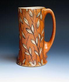 Kyle Carpenter Mug Pottery Mugs, Ceramic Pottery, Pottery Art, Pottery Ideas, Ceramic Pitcher, Ceramic Cups, Ceramic Art, Clay Texture, Pretty Mugs