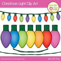 christmas light clip art you can customize this to create your own strands christmas