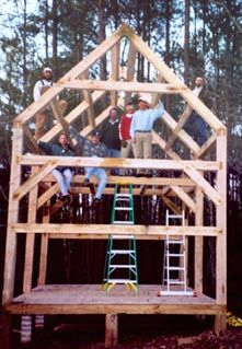 Timberframing / Tiny House