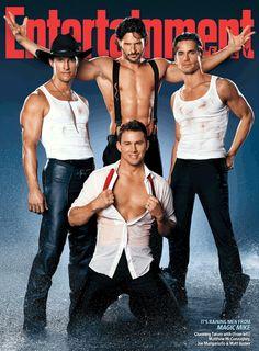 WHOA, this pic could not get any sexier!! Matt Mcconaughey Channing Tatum, Matt Bomer & of course my favorite Joe Manganiello