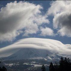 Storm on Mt. Shasta