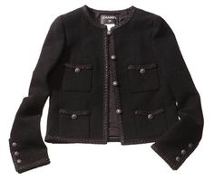 I think I may have to make a Chanel inspired jacket one of these days. This one is seeexxxy. $4,710