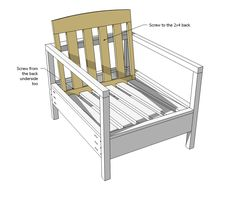 ana white build a simple white outdoor chair free and easy diy project and