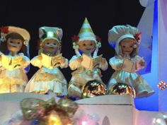Beautiful Dolls in its a small world.