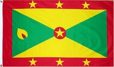 3x5 foot Grenada Country of Grenada Flag by SevenBros. $1.49. 3x5 foot. heavy grommets new header. 4 row stitchin where it counts, on the fly side.. Polyester Nylon Material. Finest available for price, made for outdoors looks great indoors.