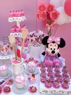Enfeite de mesa Minnie