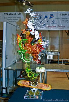 Sugar sculpture from World Pastry Championship in 2010