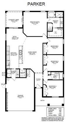 The Parker Open Plan Highland Homes