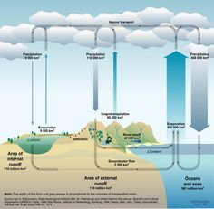 Earth water cycle