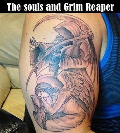 35 Cool & Cryptic Grim Reaper Tattoos