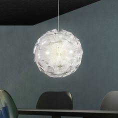 LED Kugel Hnge Lampe Wohnzimmer Esszimmer Pendel Leuchte Schnee Ball Flur Licht