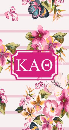 Kappa Alpha Theta Monogram!